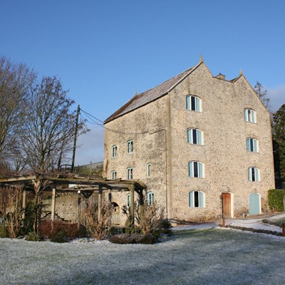 Frosty view of Watermill