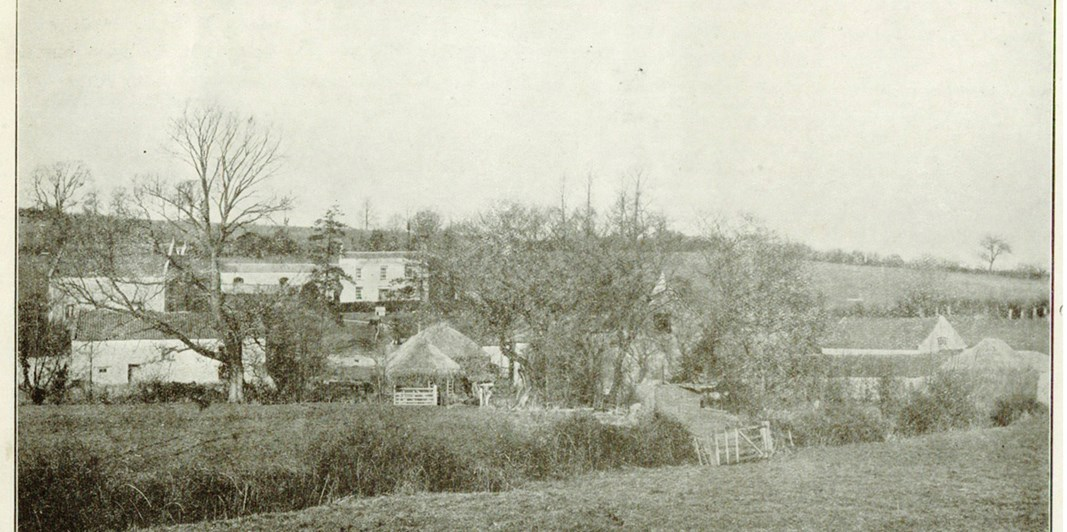 1911 photo of Priston Mill
