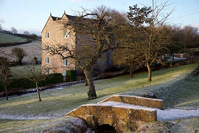 frosty morning at the Watermill