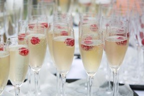 champagne reception drink