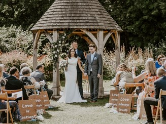 Getting married in Bath at Priston Mill wedding venue