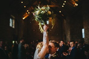 just-married-celebration-bouquet